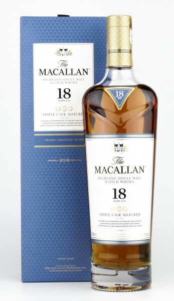 The Macallan 18 Jahre Double Cask Whisky 43% 0,7L