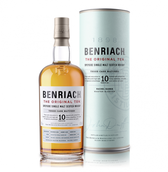 Benriach The Original Ten 10 Jahre 43% 0,7l