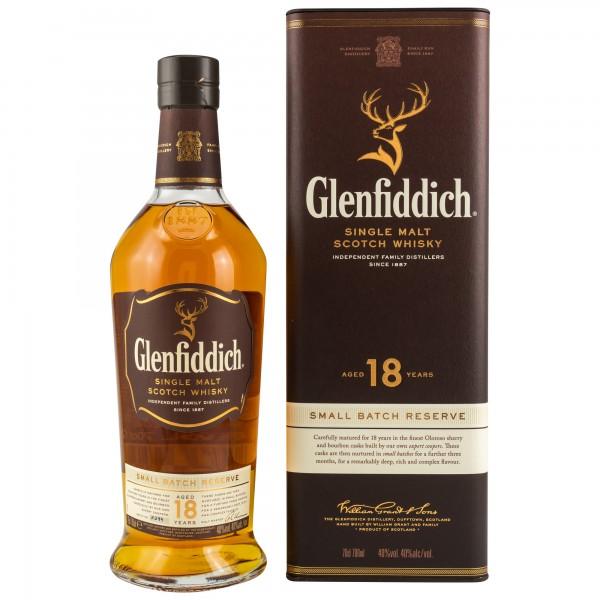 Glenfiddich 18 Jahre Single Malt Whisky 40% 0,7L