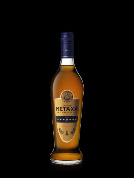 METAXA 7 STERNE BRANDY 40% 0,7L