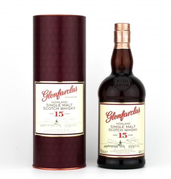 Glenfarclas 15 Jahre 46% 0,7L