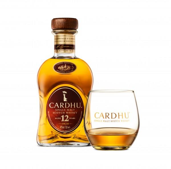 CARDHU 12 JAHRE SPEYSIDE WHISKY 40% 0,7L