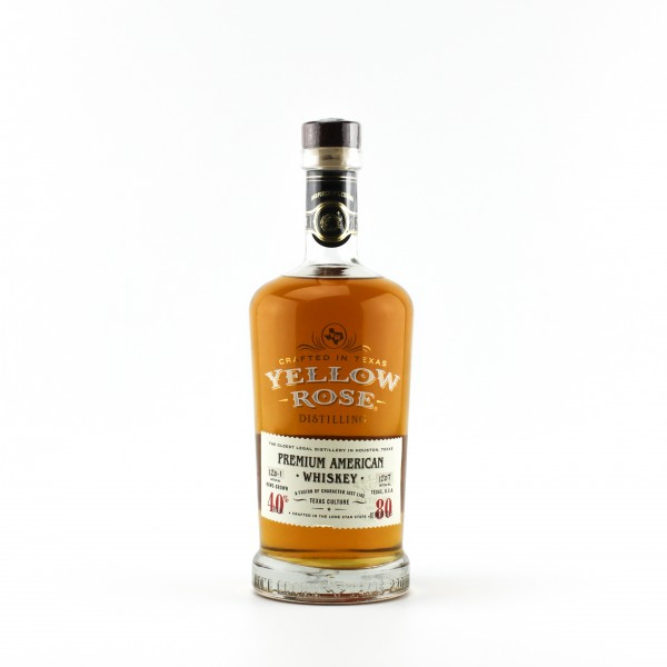 Yellow Rose Premium American Whiskey 40% 0,7 L