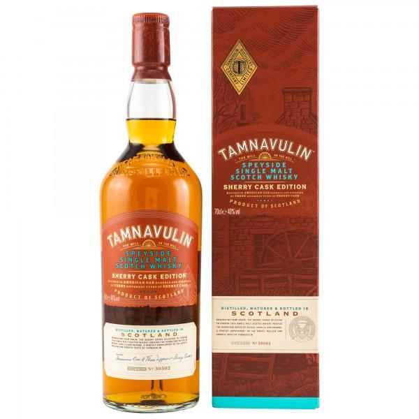 Tamnavulin Sherry Cask Speyside Single Malt Whisky 40% 0,7 L