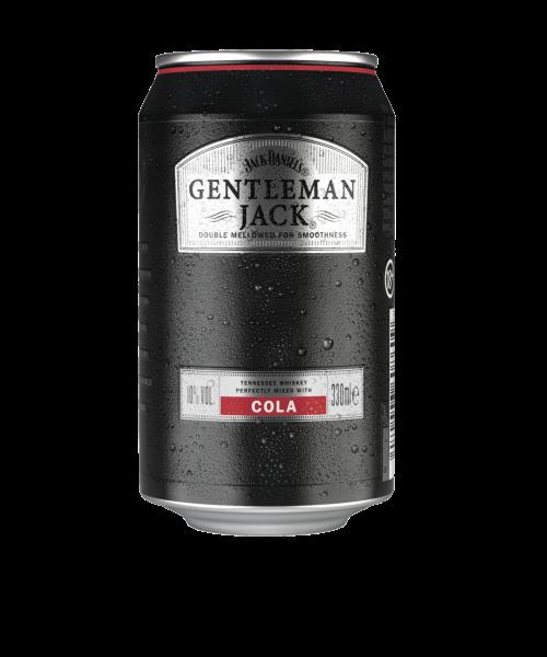 Jack Daniel's Gentleman Jack & Cola 10% 0,33 L Dose