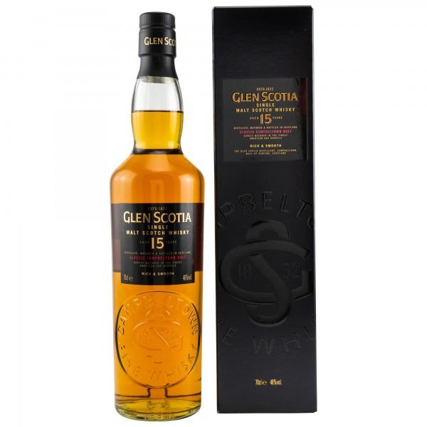 Glen Scotia 15 Jahre 46% 0,7L