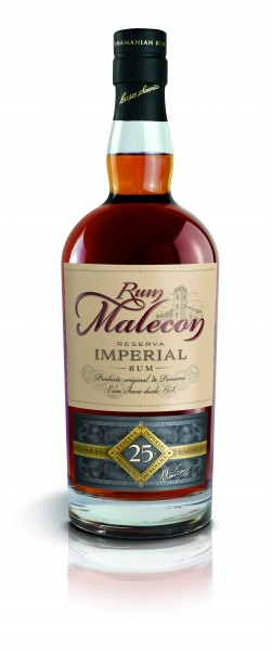 Malecon Rum 25 Jahre Reserva Imperial 40% 0,7l in HOLZBOX