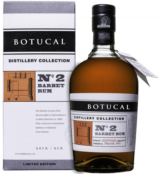 Ron Botucal Distillery Collection No. 2 Barbet Rum 47% 0,7l
