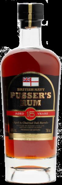 Pussers British Navy Rum 15 Jahre 40% 0,7 L