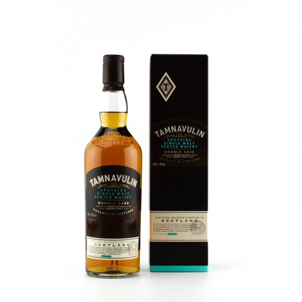 Tamnavulin Double Cask Speyside Single Malt Whisky 40% 0,7 L