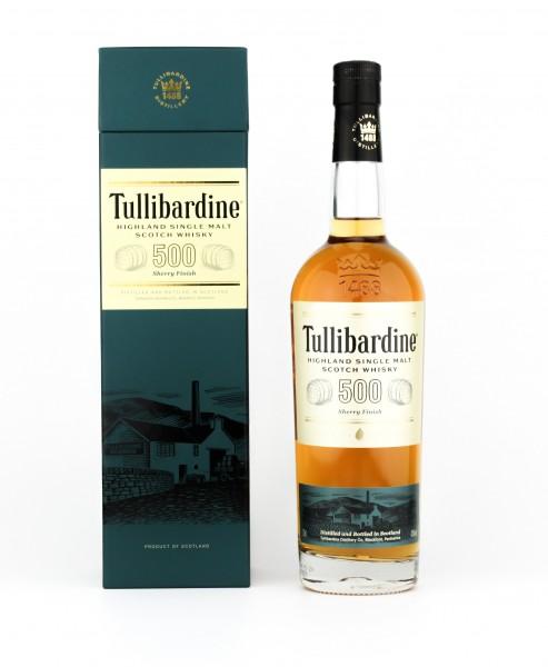 Tullibardine Sherry Finish Highland Single Malt Scotch Whisky 43% 0,7l
