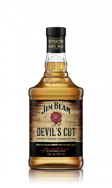 JIM BEAM DEVILS CUT BOURBON WHISKEY 45% 0,7L