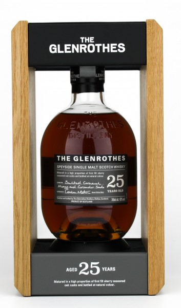 Glenrothes 25 Jahre 43% 0,7L