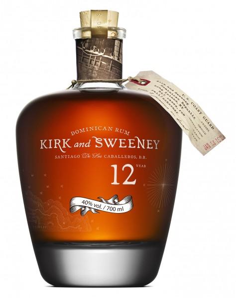 Kirk & Sweeney 12 Jahre 40% 0,7 L