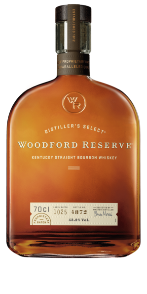 Woodford Reserve Distillers Select Bourbon Whiskey 43,2% 0,7l