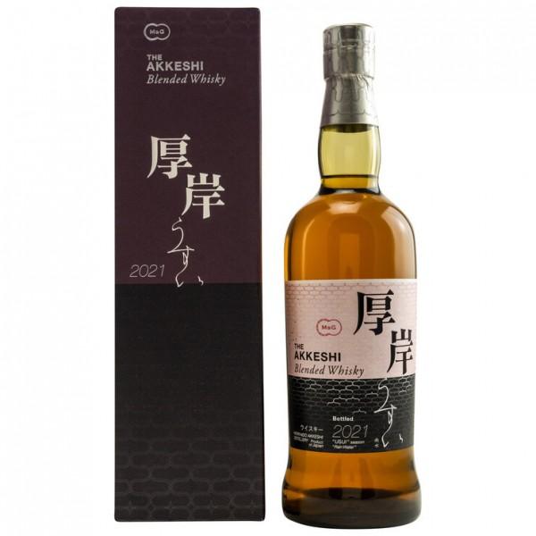 The Akkeshi Usui Blended Whisky 2021 48.0% 0,7 L