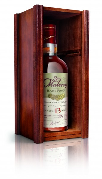 Malecon 13 Jahre Rare Proof Rum 50,5% 0,7 L in HOLZBOX