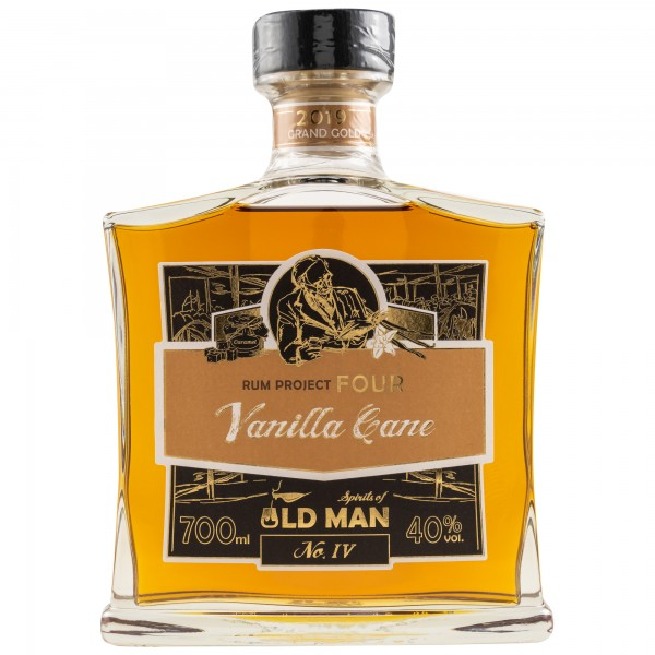 Spirits of Old Man Rum Project Four Vanilla Cane 40% 0,7 L
