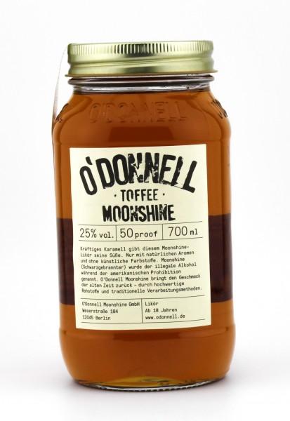 O'Donnell Moonshine Toffee Likör 25% 0,7L