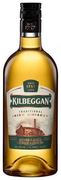 Kilbeggan Irish Whiskey 40% 0,7L