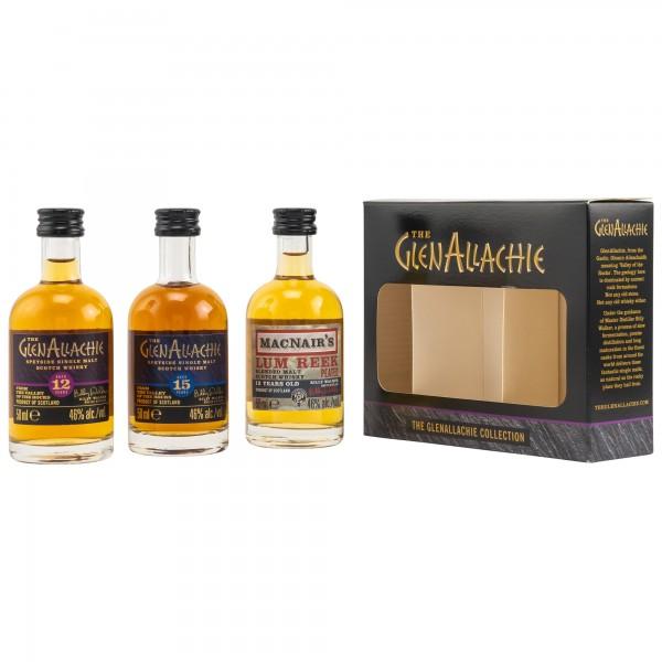 Glenallachie Miniaturen Set 46% 3x50ml