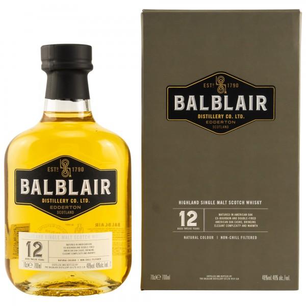 Balblair 12 Jahre 46% 0,7 L
