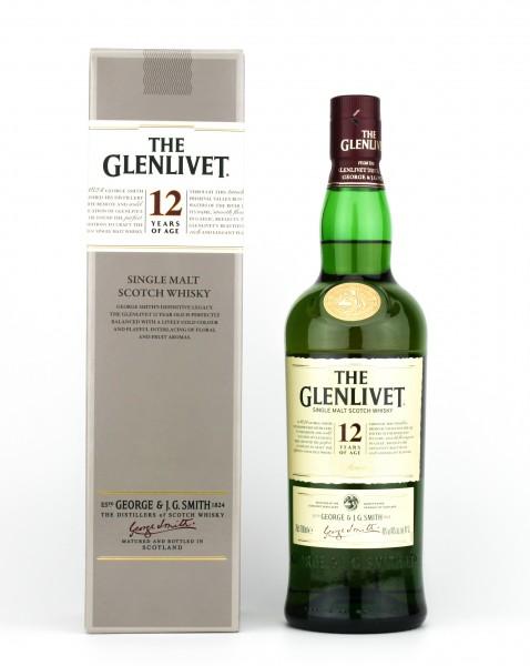 The Glenlivet 12 Jahre Single Malt Whisky 40% 0,7l
