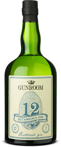 Gunroom 12 Botanicals Gin 40% 0,7l