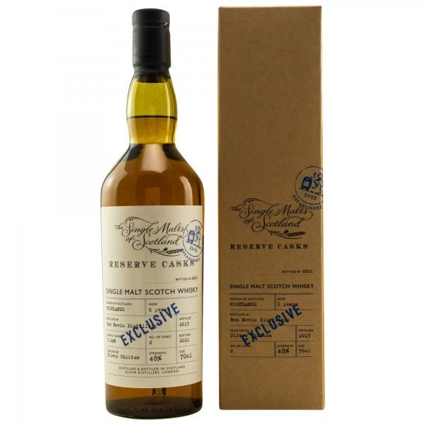 Ben Nevis 6 Jahre 2013/2021 SMoS for Kirsch Whisky 48.0% 0,7 L