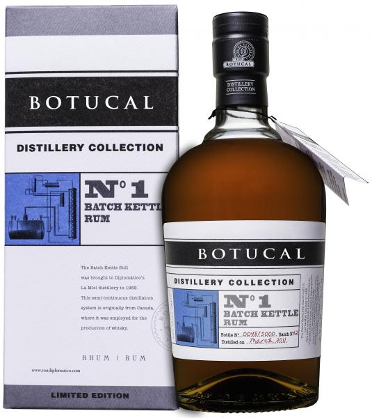 Ron Botucal Distillery Collection No. 1 Batch Kettle Rum 47% 0,7l