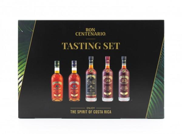 Ron Centenario Rum Tasting Set 40% 5x0,05L