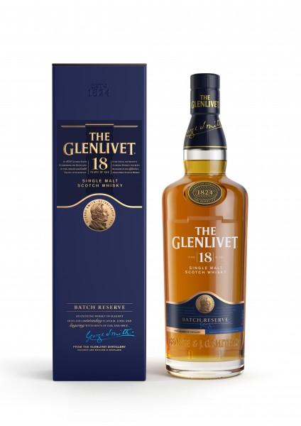 Glenlivet 18 Jahre Speyside Whisky 40% 0.7L