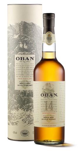 Oban 14 Jahre Highland Whisky 43% 0,7L