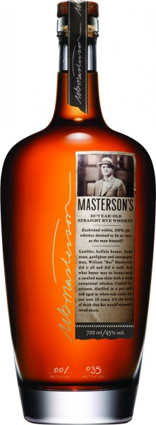 Masterson's 10 Jahre French Oak Finish 45% 0,7 L