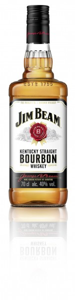 Jim Beam White Label Bourbon Whiskey 40% 0,7L