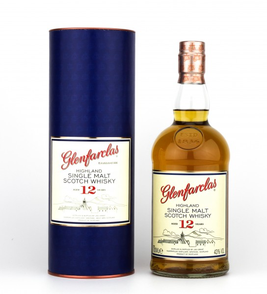 Glenfarclas 12 Jahre 40% 0,7L