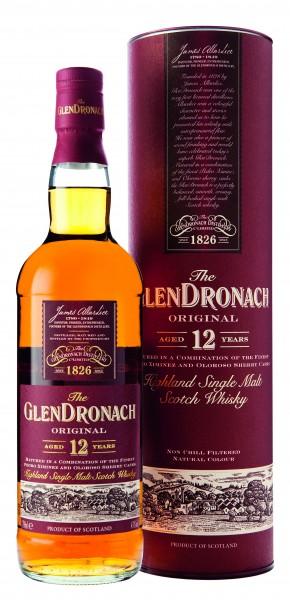 Glendronach 12 Jahre Whisky 43% 0,7l