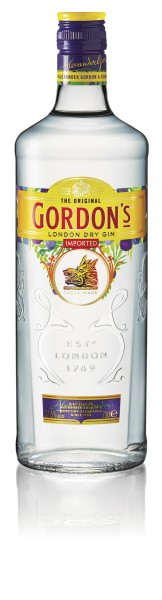 GORDON´S LONDON DRY GIN 37,5 % 0,7l