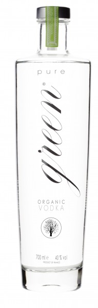 Pure Green Organic Bio Vodka 40% vol. 0,7 L
