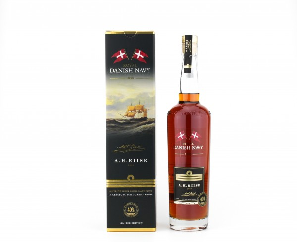 A.H. Riise Danish Navy Rum 40% 0,7l