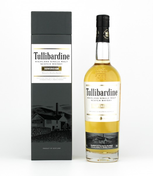 Tullibardine Sovereign Highland Single Malt Scotch Whisky 43% 0,7l