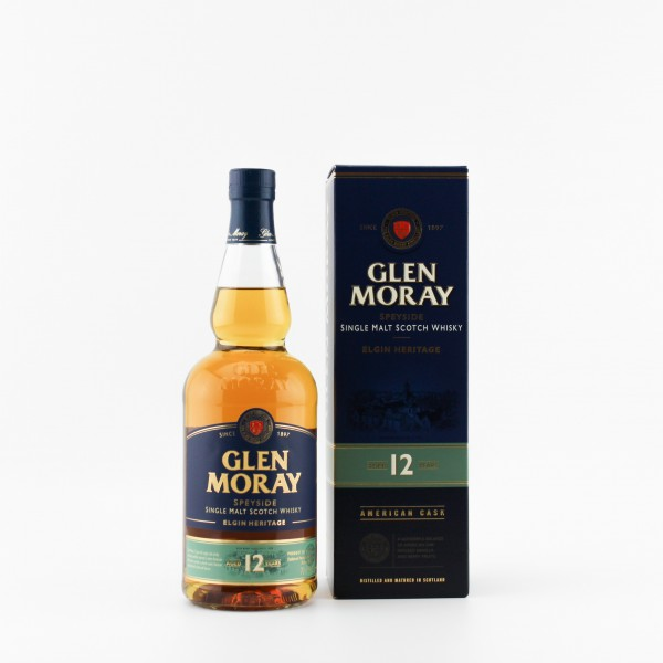 Glen Moray 12 Jahre Malt Whisky 40% 0,7 L