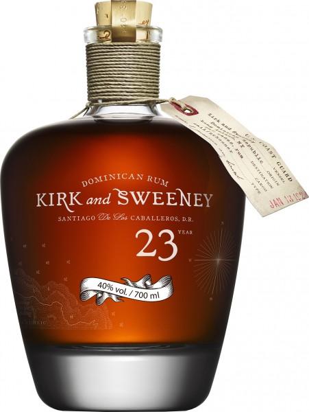 Kirk & Sweeney 23 Jahre 40% 0,7 L