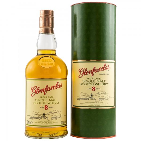 Glenfarclas 8 Jahre 40% 0,7L