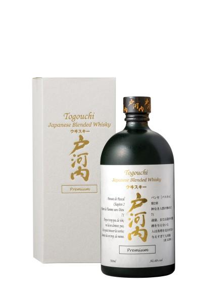 Togouchi Premium Japanese Blend Whisky 40% 0,7l