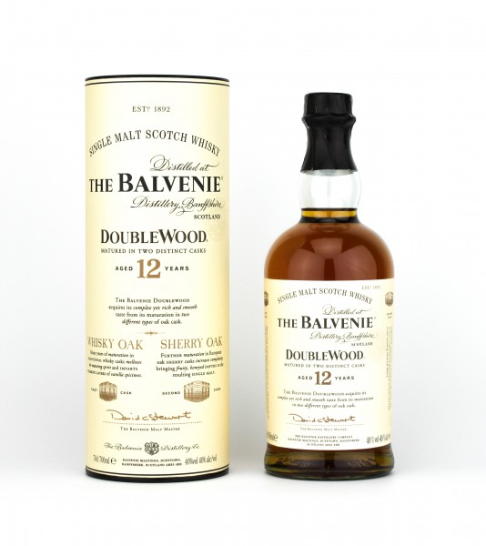 The Balvenie 12 Jahre Double Wood 40% 0,70L