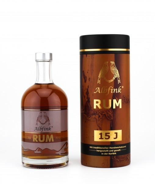 Albfink Rum 15 Jahre 46 % 0,5L