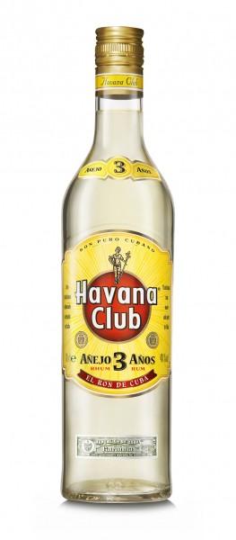 Havana Club Rum Anejo 3 Anos 40% 0,7L