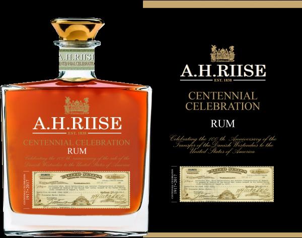 A.H.Riise Centennial Celebration Rum 45% 0,7L