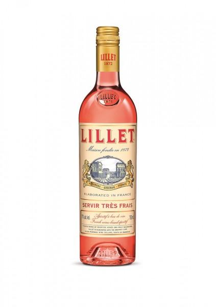 Lillet Rosé Aperitif de France 17% 0,7l
